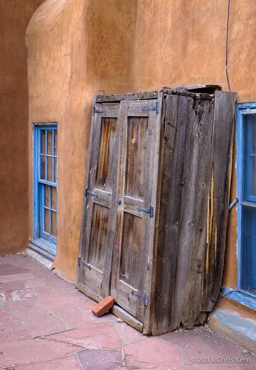 Architectural Salvage, Santa Fe, New Mexico, USA (2015)