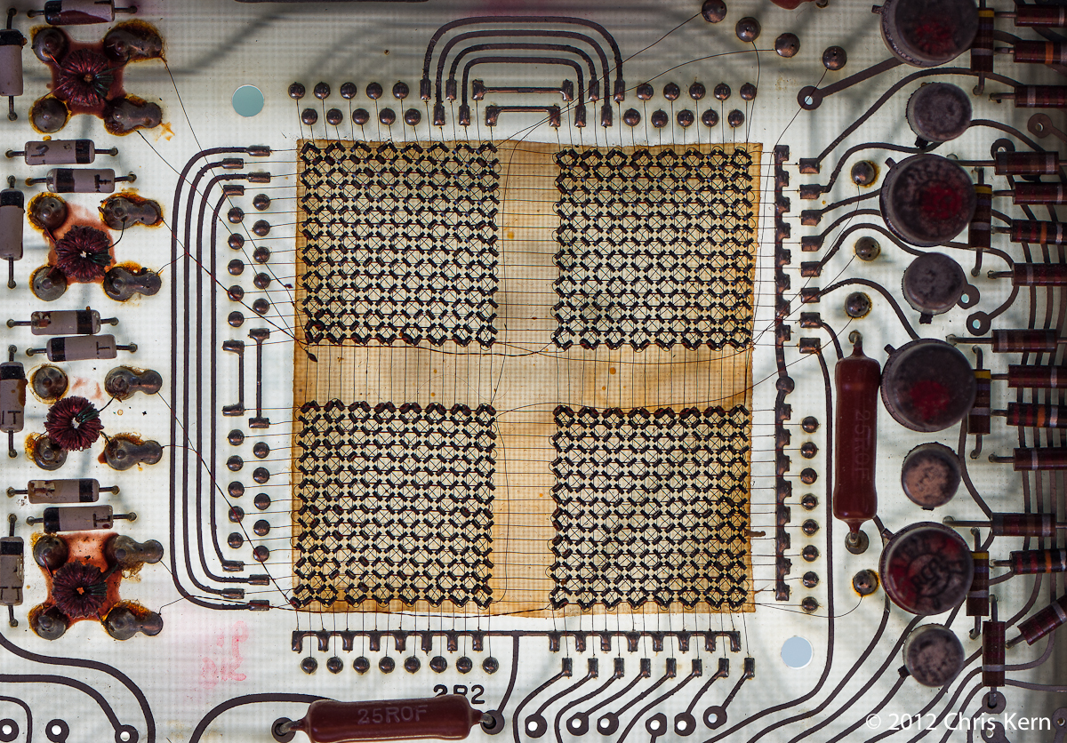 Ferromagnetic Core Memory, Washington, District of Columbia, USA (2012)