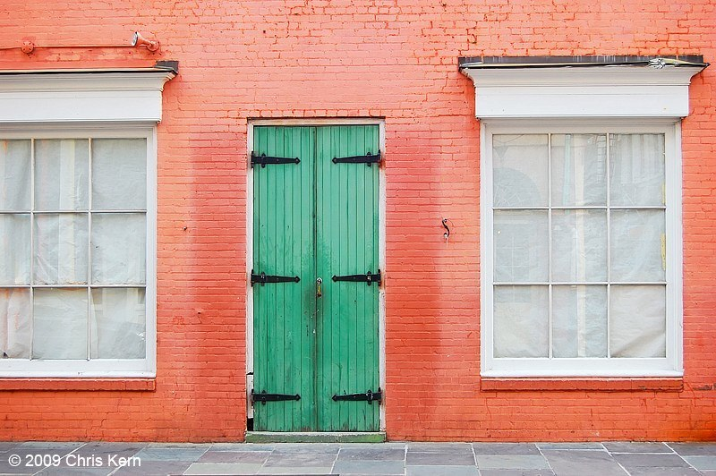 Green Door, New Orleans, Louisiana, USA (2009)