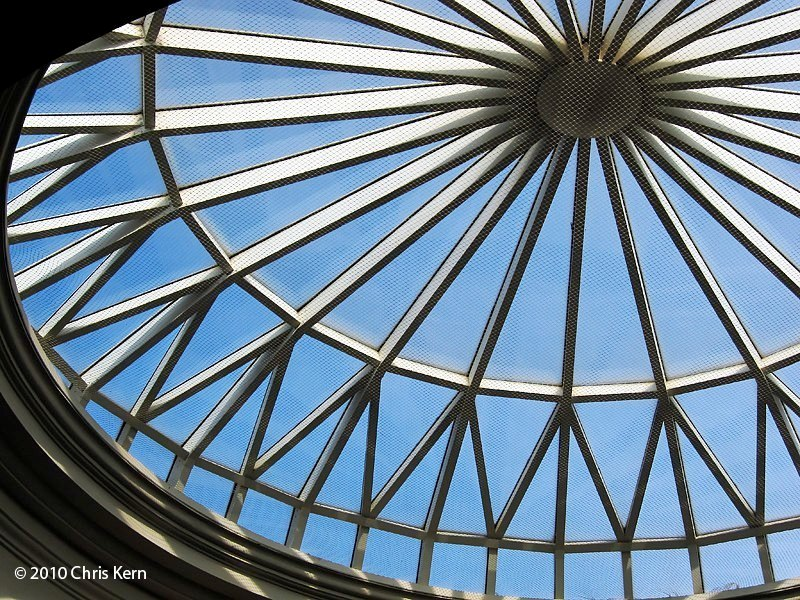 Oculus, Huntington Library, Pasadena, California, USA (2010)