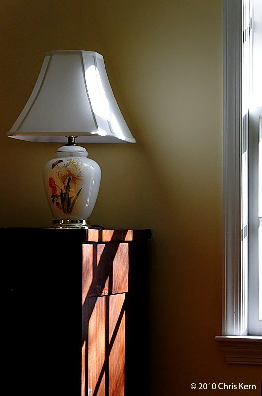Lamp on Dresser, Washington, District of Columbia, USA (2010)