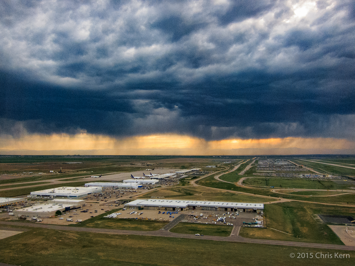 Late Afternoon Storm, Denver International Airport, Denver, Colorado, USA (2015)