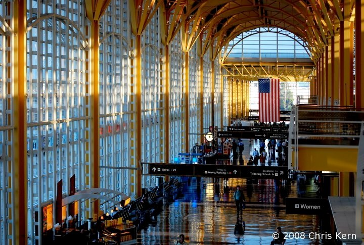 National Airport Terminal, Arlington, Virginia, USA (2008)