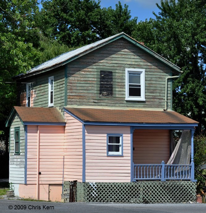 Painted House, Strasburg, Virginia, USA (2009)