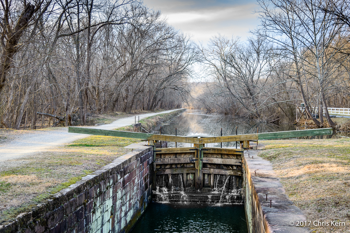 Pennyfield Lock, C&O Canal, Potomac, Maryland, USA (2017)
