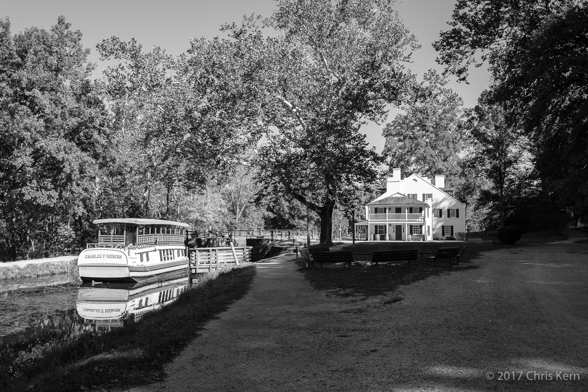 The Charles F. Mercer at Great Falls Tavern, C&O Canal Historical Park, Potomac, Maryland, USA (2017)